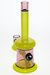 "Nhalables Actual Backside Image for a ""Tuskum Glass"" Chartreuse and Phaze colored 14mm Banger Hanger"