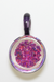 Nhalables Back View Image for a White Chocolate Glass (Michigan) Pink Dark Tone Opal Pendant