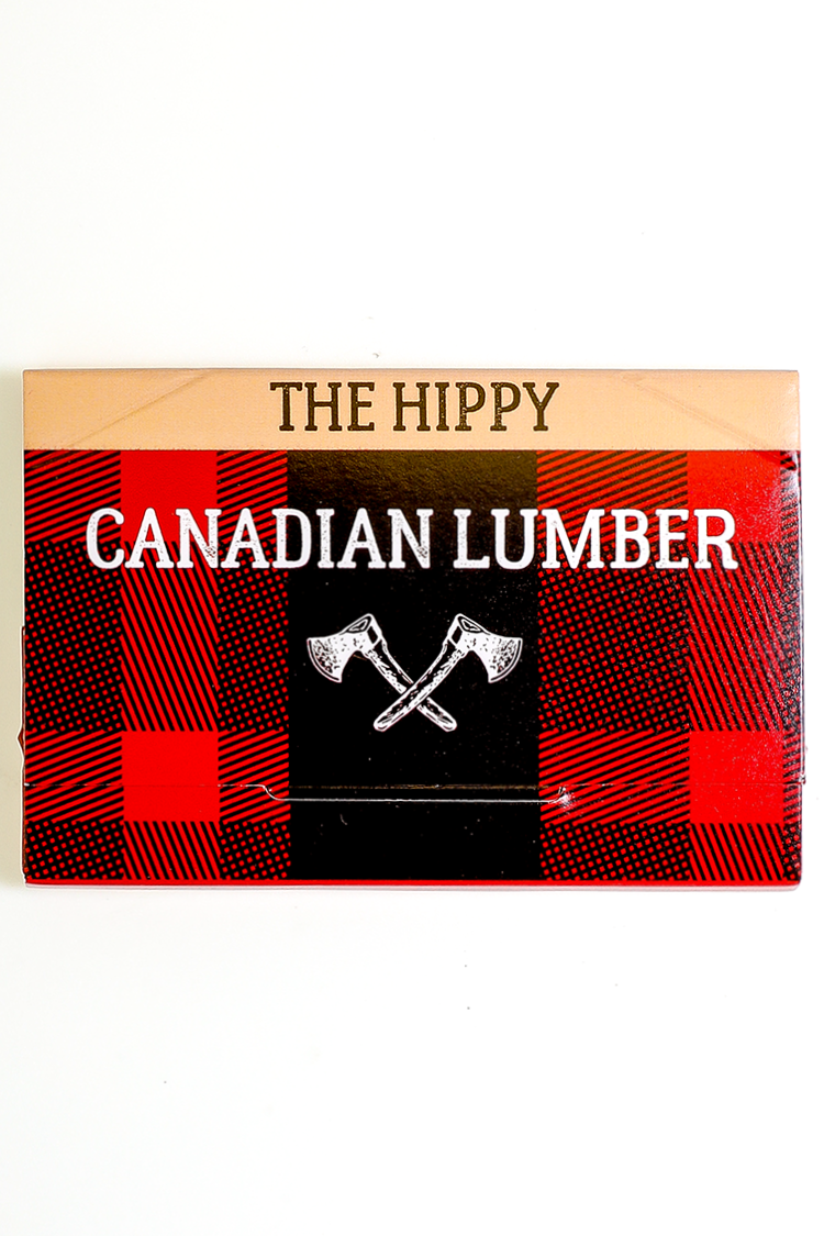 Nhalables actual image for a Canadian Lumber The Hippy 50/50 Flaxseed Hemp Blend Rolling Paper