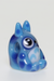 Nhalables Left Side Image for a Kawaii Glass(Ohio) Glass Totoro Pendant Blue