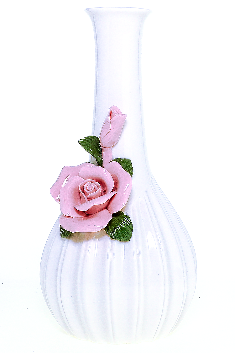 "Nhalables Actual Flower view Image for a Imported ""My Bud Vase"" Rose *Pink Waterpipe"