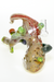 Nhalables Front View Image for a Tree Stump Rig by New York Based Yano Glass (@yanoglass)