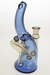 Nhalables Right Side View Image for an Oregon Based Glassblower MeadeMade Glass Blue Dream / Hoodoo Beldar Recycler CFL