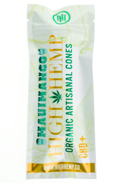 Nhalables Product image for High Hemp - Maui Mango All Natural Hemp Cones