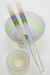 Emily Marie – Chop Sticks and Rice Bowl *White Matte Finish with Color Encalmo and Serum CFL