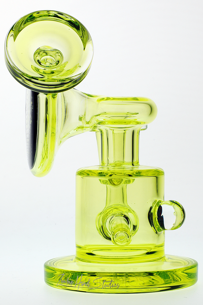 Nhalables Normal Lighting Wide Side View for Arizona Based Glassblowers Zombie Hand Studios (Josh Forche, Brett Hughes) Retticello Illuminati Sidecar Oil Rig