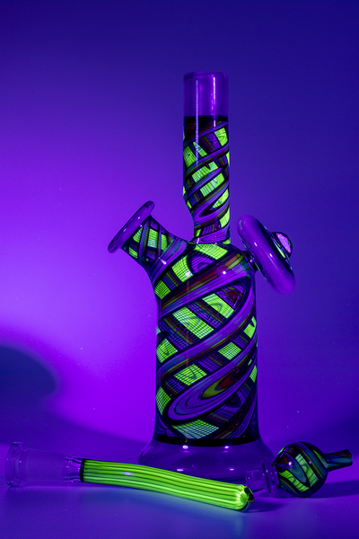 Nhalables Whole Set UV Image for a Reverend Morse Double Layer Pastel Potion and Illuminati Tube