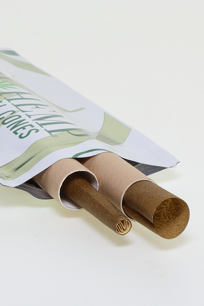 Nhalables Opened Actual image for High Hemp - All Natural Hemp Cones