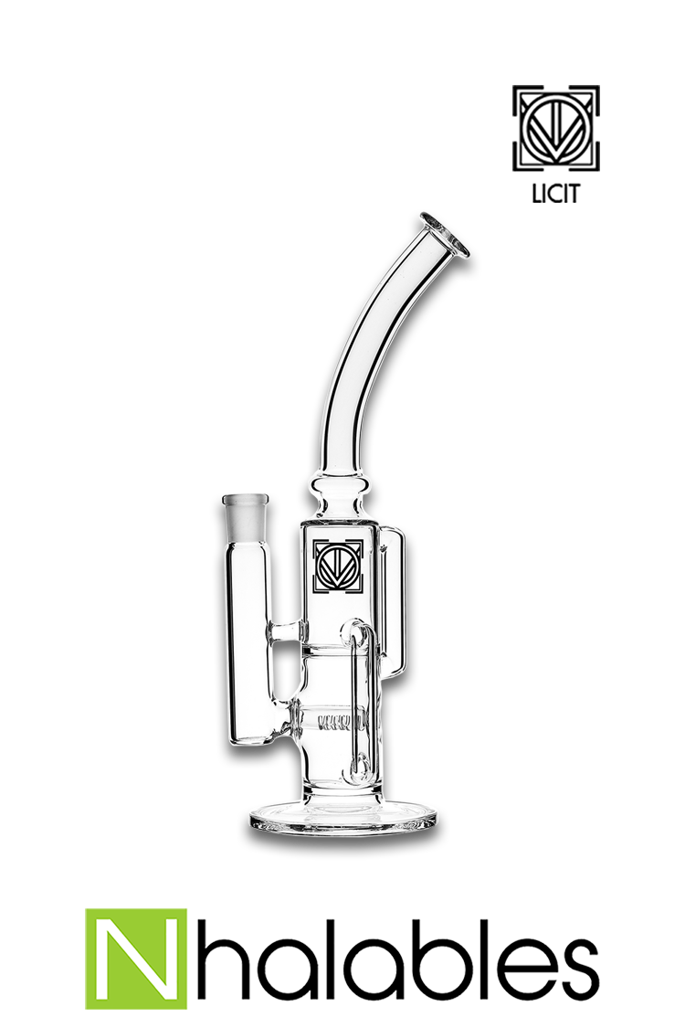 "Nhalables Product Image for a ""38 Special Recycler"" By Virginia based ""Licit Glass"""