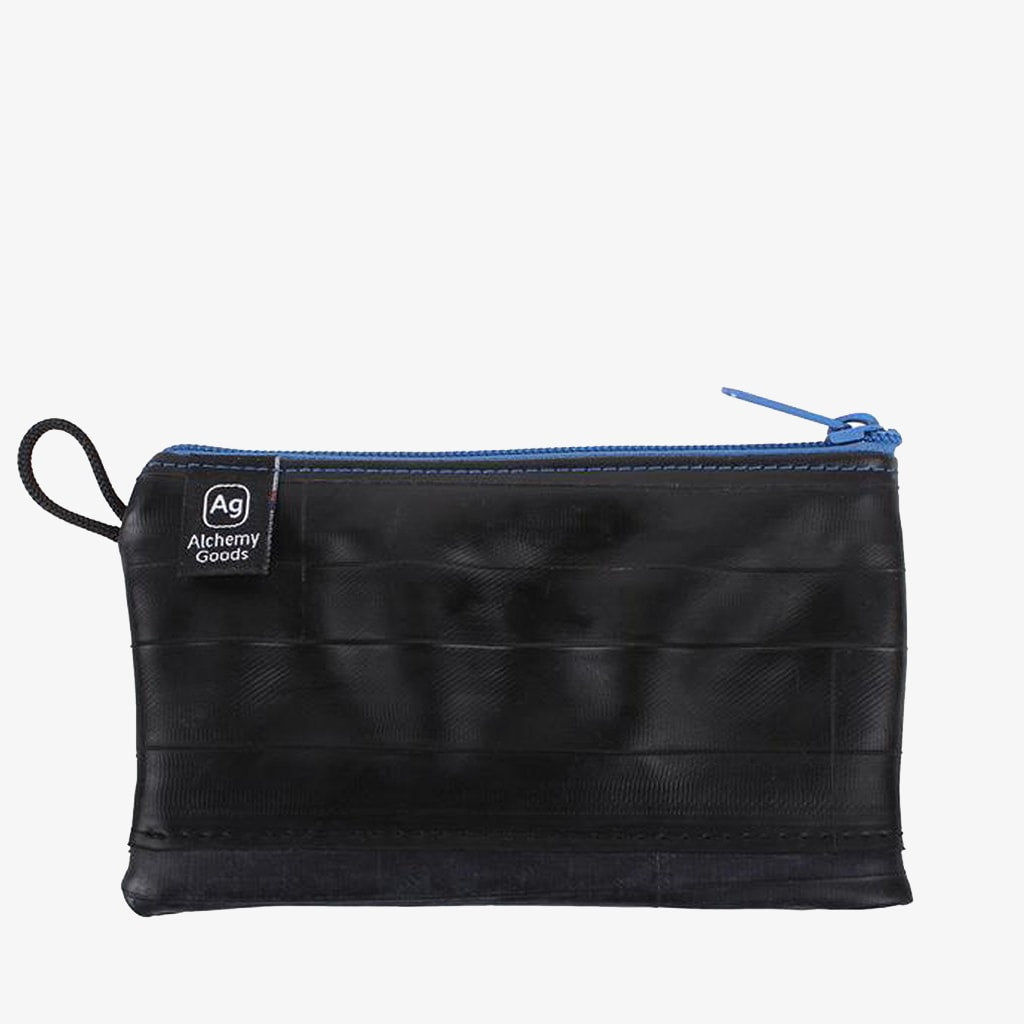 Zipper Pouch Mid-Size - Electric Blue