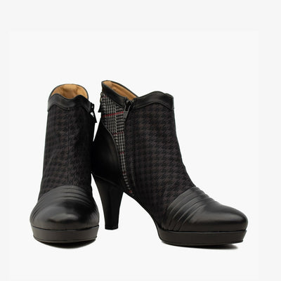 Lindsay Tweed Ankle Boot