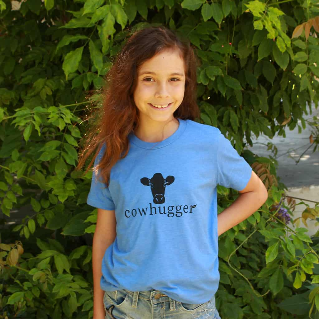 Cowhugger Youth Shirt Blue