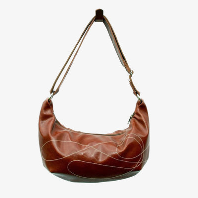 Topstitch Hobo Bag
