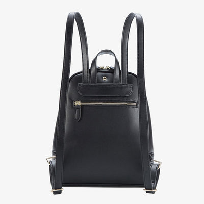 Debut Slim Backpack in Black, Green, or Caramel
