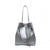 Pelican Bucket Bag - Silver