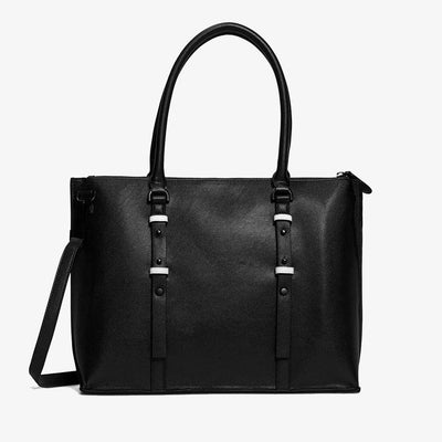 Westside Laptop Tote - Black