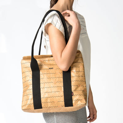 Linaria Tyvek Tote Bag - Frequency