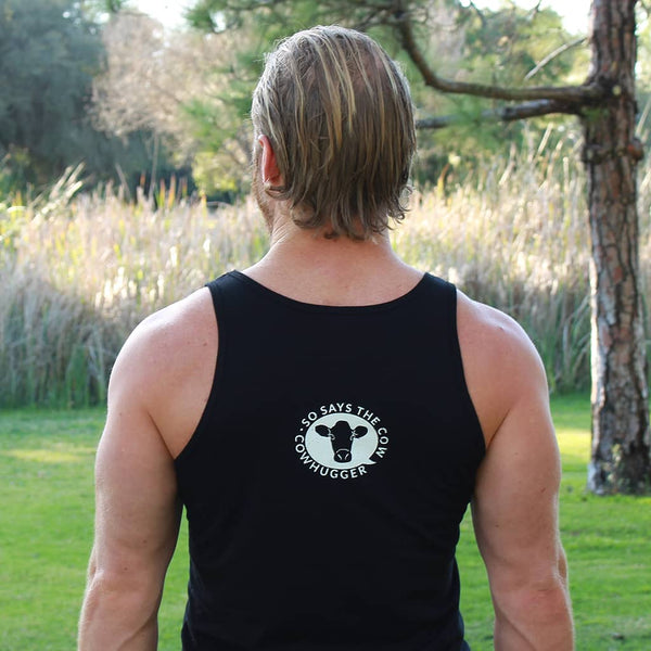 Veganism Plant Based Muscle Athlete Workout Cowhugger Kill The Workout Unisex Tank Top Save The Animals