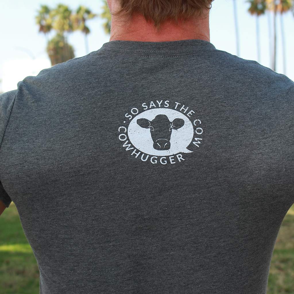 """Save The Animals, Kill The Workout"" T-Shirt - Light Gray"