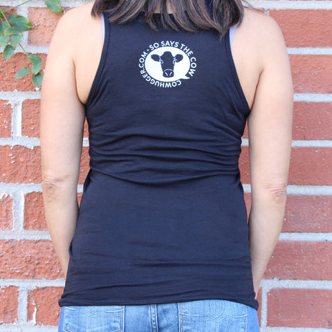 """Save The Animals, Kill The Workout"" Unisex Tank - Black"
