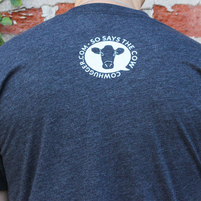 """Save The Animals, Kill The Workout"" T-Shirt - Gray"
