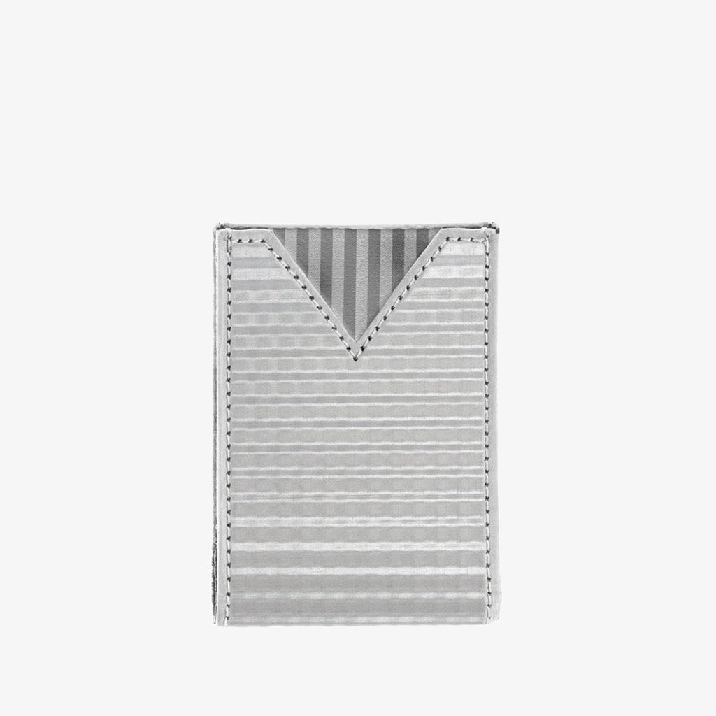 Stainless Steel V Pouch - Checkered