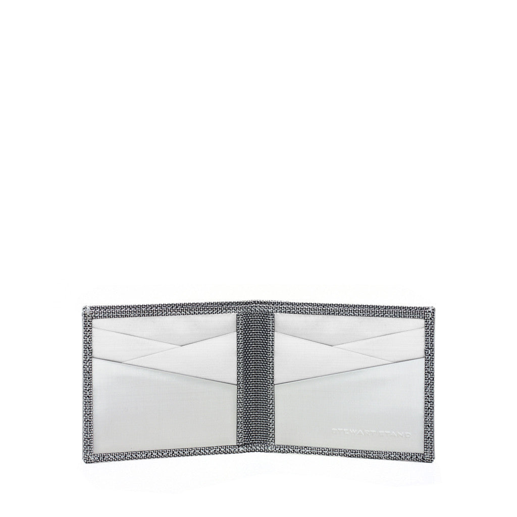 Stainless Steel Billfold - Herringbone