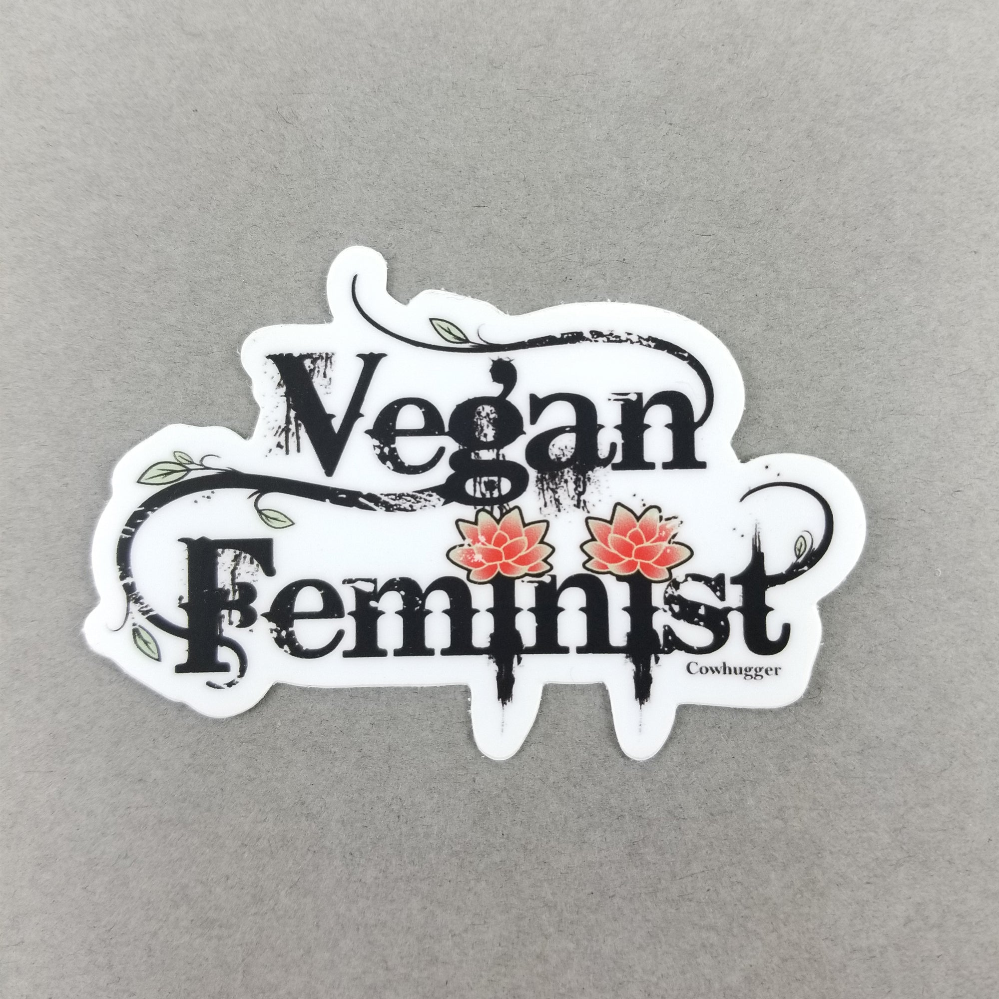 Vegan Feminist Sticker