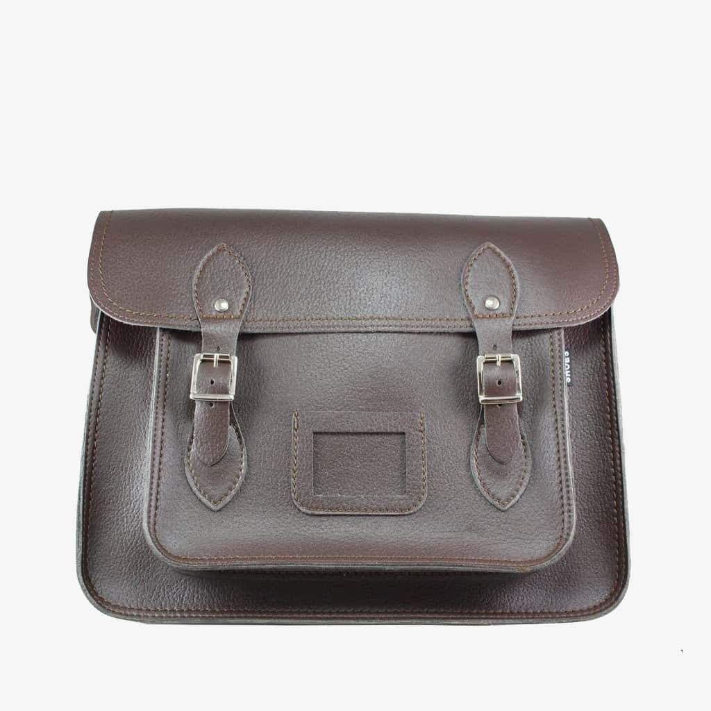 Vegetan Bucky Satchel - Brown