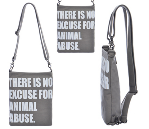 """No Excuse For Animal Abuse"" Backpack"