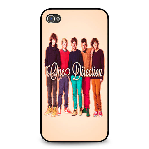 1D One Direction Personnel iPhone 4 4S case