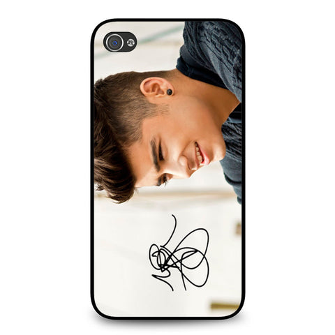 1D Zayn Malik Signature iPhone 4 4S case