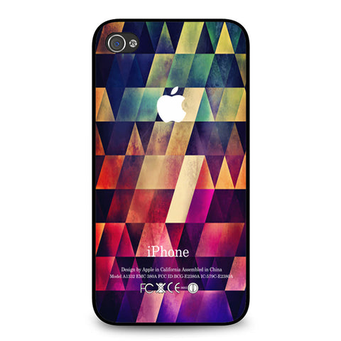 Abstract Apple Geometric iPhone 4 4S case