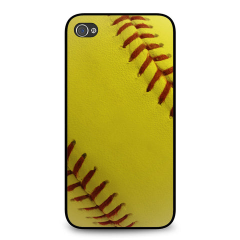 Ball Baseball Yelow iPhone 4 4S case