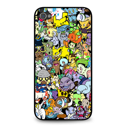 Adorable Pokemon Character iPhone 4 4S case
