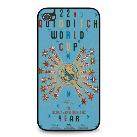 422nd Quidditch World Cup Poster iPhone 4 4S case