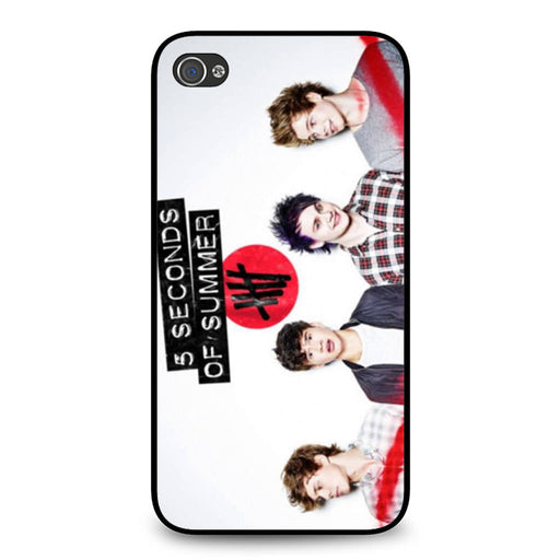 5 Seconds of Summer 5SOS Band iPhone 4 4S case