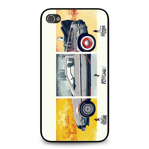 Back To The Future DeLorean DMC 12 iPhone 4 4S case