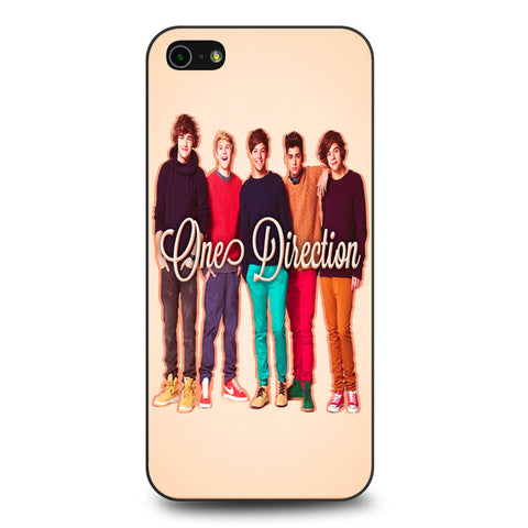 1D One Direction Personnel iPhone 5 5s SE case
