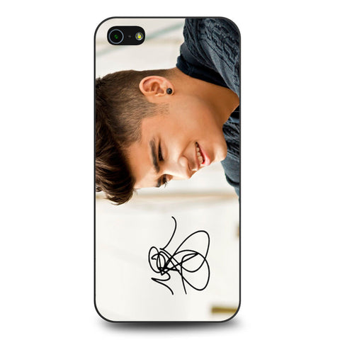 1D Zayn Malik Signature iPhone 5 5s SE case