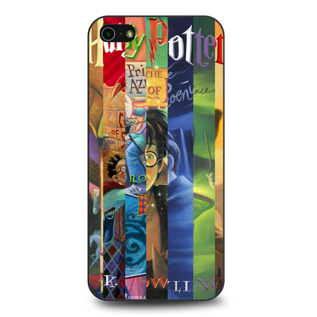 Harry Potter Book Cover Phone Case ~ Harry potter cover books iphone s se case
