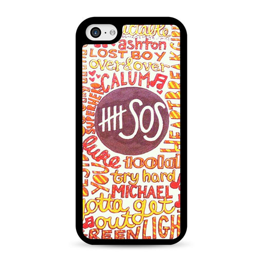 5 Seconds Of Summer 5SOS Quote Design iPhone 5C case
