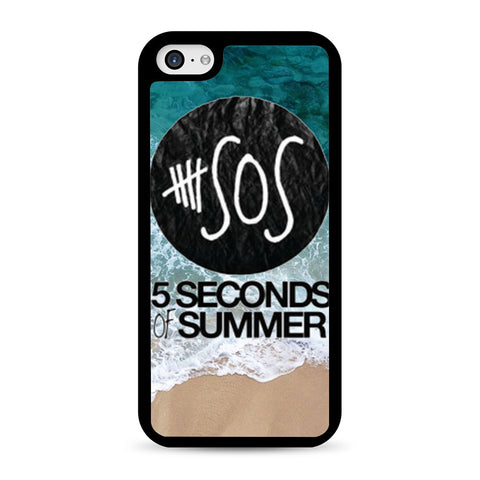 5 Seconds of Summer Band The Beach iPhone 5C case