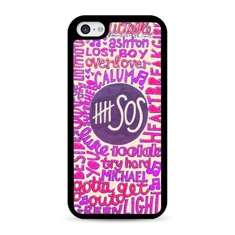 5 Seconds Of Summer Collage 2 iPhone 5C case