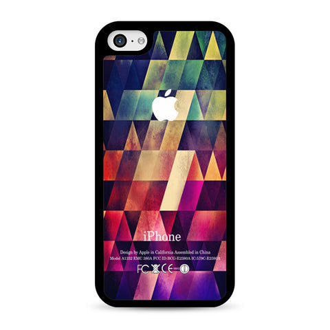Abstract Apple Geometric iPhone 5C case