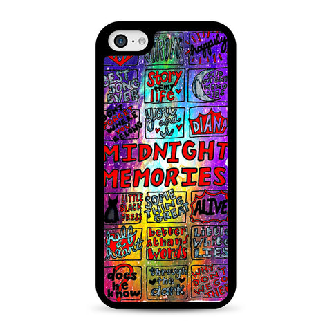 1d Midnight Memories Collage iPhone 5C case