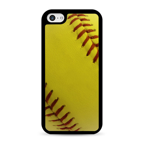 Ball Baseball Yelow iPhone 5C case