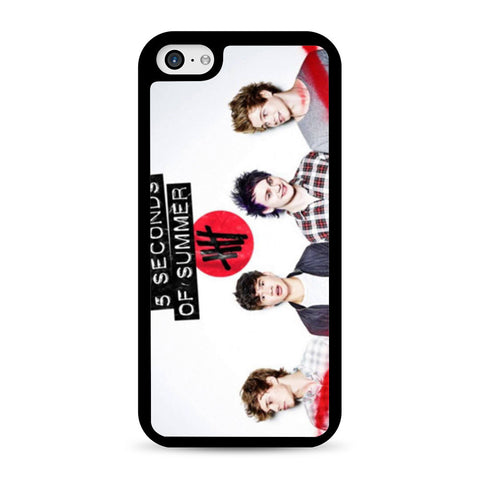 5 Seconds of Summer 5SOS Band iPhone 5C case