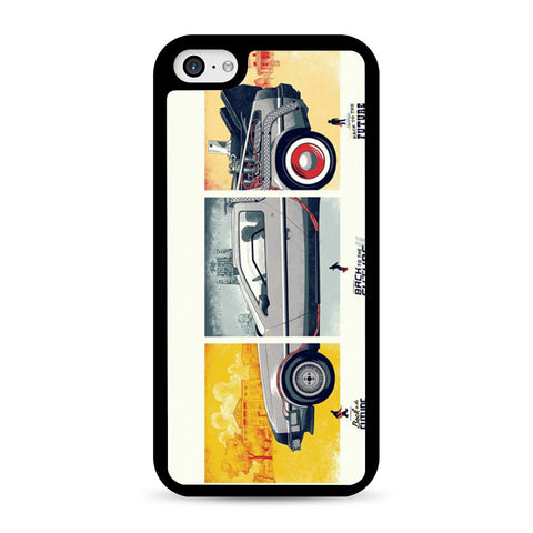 Back To The Future DeLorean DMC 12 iPhone 5C case