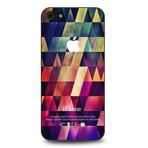 Abstract Apple Geometric iPhone 5 5s SE case